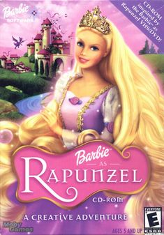 Barbie As Rapunzel (2002) - Hindi Dubbed Movie Watch Online. Starring - Kelly Sheridan, Anjelica Huston, Cree Summer Director - Owen Hurley Genre - Animation, Family Movie Info - http://www.imdb.com/title/tt0313255/