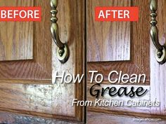 How To Clean Grease From Your Kitchen Cabinets