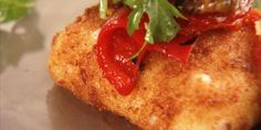 Crispy Fried Cheese Squares