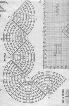 Crochet Patterns Lace Today you are going to learn h Crochet Mat, Crochet Lace Edging, Crochet Borders, Crochet Diagram, Crochet Stitches Patterns, Crochet Home, Filet Crochet, Crochet Designs, Crochet Doilies