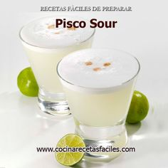 During our travels to Peru, we were introduced to a refreshing cocktail – Pisco Sour. This tangy cocktail is typically served with an egg white on top, however, you could have it without and … Peruvian Drinks, Peruvian Pisco, Peruvian Recipes, Sour Cocktail, Cocktail Drinks, Cocktail Recipes, Craft Cocktails, Recette Pisco Sour, Ceviche