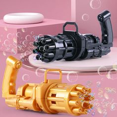 Gatling Bubble Machine 2021 Cool Toys & Gift Bubble Machine, Small Fan, Lose Inches, Just Because Gifts, Having A Blast, Animals For Kids, Cool Toys, Party Favors, Shopping