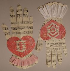 Woven Heart And Hand Valentine Tutorial... ullebenulla  http://ullam.typepad.com/ullabenulla/2011/02/woven-heart-and-hand-valentine-tutorial.html