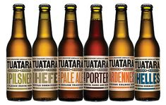 Tuatara Brewing - Great packaging and a mighty fine brew. The Munich Helles is an office favourite
