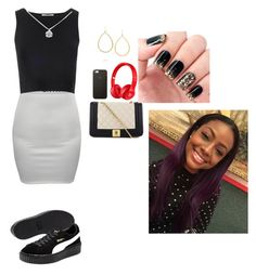 """""""Untitled #98"""" by sherlybella on Polyvore featuring CO, Glamorous, Puma, Love Moschino, Tiffany & Co. and Ippolita"""