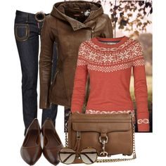 the jacket. stop hiding behind the sweater. come into the light. let me look at you. Modest Casual Outfits, Stylish Outfits, Fashion Outfits, Womens Fashion, Autumn Winter Fashion, Winter Style, Fall Fashion, Look At You, Polyvore Outfits