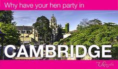 Why have your hen party in Cambridge? #henparty #hendo #henweekend #hennight #henpartyweekend #hendoweekend #henpartyfun #henorstaghour #henhour #henpartyideas #hendoideas #cambridge
