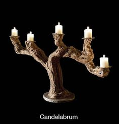 Vine Candle Holder, Candalabrum