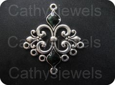 Hey, I found this really awesome Etsy listing at https://www.etsy.com/listing/206863336/antique-silver-and-black-chandelier