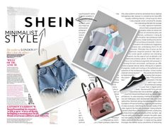 """""""SheIn"""" by musicajla ❤ liked on Polyvore featuring Post-It and Vans"""