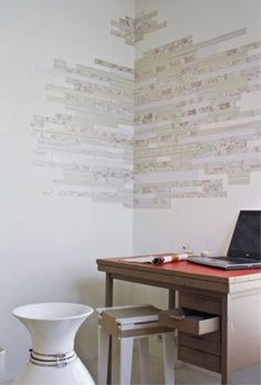 Like the look of (some) wallpaper hate the hassle. Magnetic wallpaper might take care of that.