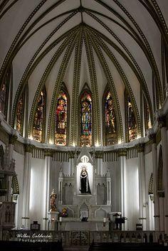 Interior de la Ermita de Cali, Colombia