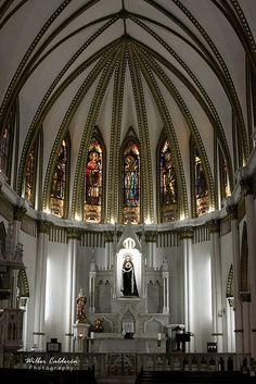 Interior de la Ermita de Cali #colombia