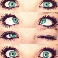 sea green eyes. Wish my eyes were this color!!!