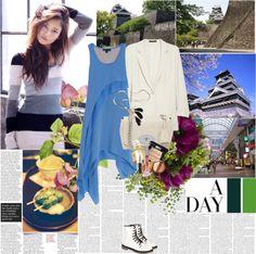 """""""Travelling Japan,Kumamoto"""" by rainie-minnie ❤ liked on Polyvore"""