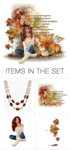 """""""Fall Leaves"""" by chileez ❤ liked on Polyvore featuring art"""