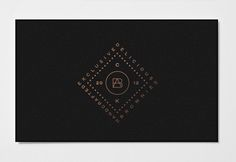 Stationery Design By Richard Baird for Peruvian brownie brand Brownies Atelier