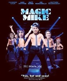 Magic Mike with Pierce The Veil Ft. Kellin Quinn who else laughed there ass off looking at this?