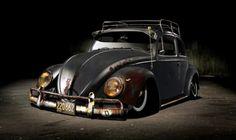 Slammed VW Beetle..