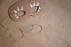 DIY: Stempelmasken - we love handmade Our Love, Blog, Drop Earrings, Costumes, Inspiration, Handmade, Jewelry, Diy Stuff, Biblical Inspiration