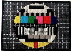 Tv Test Patch 8 x 5,5 cmPatch - Aufnäher Aufbügler Applikation in Musik, Fanartikel & Merchandise, Aufnäher   eBay