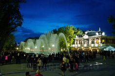 Вечер открытия каскада фонтанов на Авроре