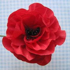 Crepe Paper Flowers Using Streamers and a Ruffler Foot – Tutorial ...