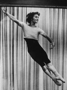 Long before he was one of the biggest names in Hollywood, Patrick Swayze (pictured at a ballet rehearsal circa 1976) was just a hopeful dancer from Houston, Texas