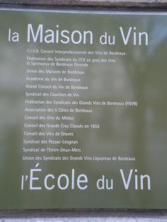 A great place to start wine tasting @Bordeaux / Un lugar magnífico para empezar la degustación de vinos en Bordeaux