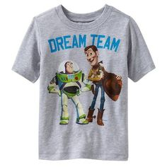 Old Navy Disney/Pixar Toy Story 3 'Dream Team' Tee Shirt For Baby (205 MXN) ❤ liked on Polyvore featuring shirts and kids