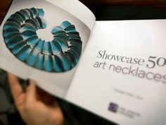 Title page for my Fusion Neckpiece! ( Mariana Acosta ) on Showcase 500 Necklaces by Lark Books