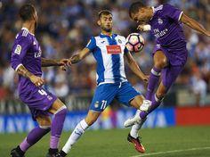 Siga en vivo el partido entre el Espanyol y el Real Madrid