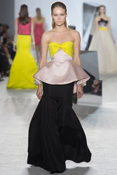 Giambattista Valli Spring 2014 Couture Fashion Show - Katya Riabinkina (Elite)