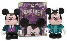These figures, also designed by Ron Cohee, will feature Mickey Mouse and friends playing roles from the Haunted Mansion.