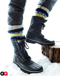Mens Snow Boots Fashion