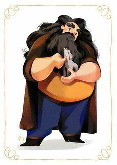 Hagrid by Maud Bihan