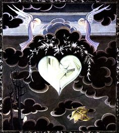 "Art by Kay Neilsen (1924) - ""Snow Queen."""