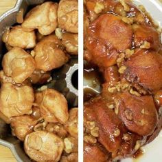 I've died and gone to Heaven! Chocolate Cream Cheese Stuffed Monkey Bread! Ingredients: 2 16 oz containers of biscuit dough (16 big biscuits total) 8-12 oz Cream Cheese Chocolate Chips (we used dark chocolate) 1…