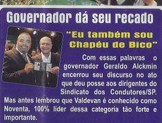 Alckmin estaria por trás da greve dos ônibus em São Paulo?