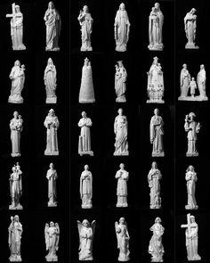 Modelli di repertorio donati dal laboratorio Studio Lapis di Pietrasanta