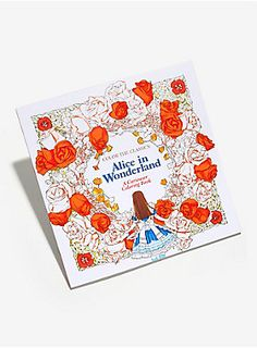 Colorful and colorful   Alice In Wonderland Curiouser Coloring Book