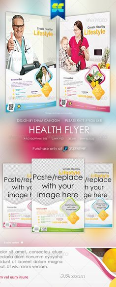 Home Health Care Flyer Templates Flyer template, Health care and - hospital flyer template