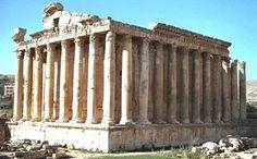 temple de Bacchus a' Baalbek