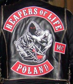 Just the red should be a giveaway for a 81 support club in Poland. Great strong brotherhood of MC s in Poland.