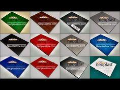 Muestrario Panel de Aluminio Compuesto - YouTube