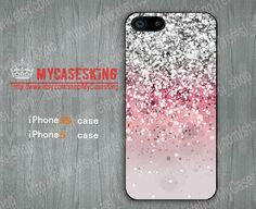 Spark Sparkle iPhone 5s case Sparkle iPhone 5 case Ombre iPhone5s case Gradient iphone 5 5s Hard/Rubber case-Choose Your Favourite Color by MyCasesKing, $6.99