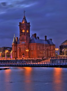 Pier Head Building, Cardiff Bay, South Wales, UK