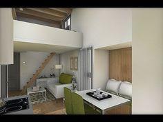 Diseño Interior: Apartamento 32+8 m2