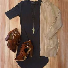 Cute casual and fashionable. Work or casual weekend event. Fall Winter Outfits, Autumn Winter Fashion, Summer Outfits, Early Spring Outfits, Summer Wear, Mode Outfits, Casual Outfits, Fashion Outfits, Fashion Trends