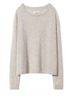 e29fb3b18185a LIGHT GREY MELANGE RYLIE SWEATER Nili Lotan, Sweater Shop, Cashmere Sweaters,  Cable Knit